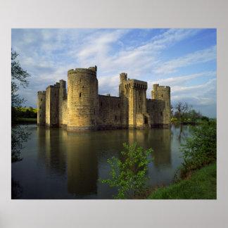 England, Sussex, Bodiam Castle Poster