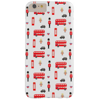 England Symbols Pattern Barely There iPhone 6 Plus Case