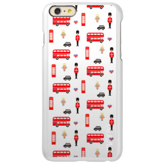 England Symbols Pattern iPhone 6 Plus Case