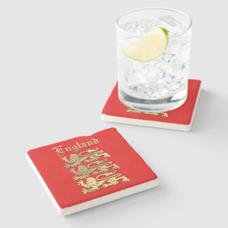 England - The Royal Arms Stone Coaster