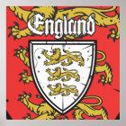 England Three Lions  Shield Poster