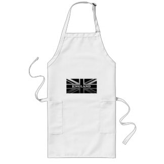 England Union Jack Flag Design Long Apron