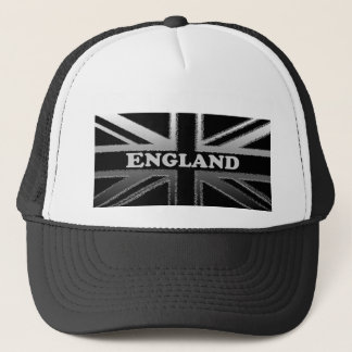 England Union Jack Flag Design Trucker Hat