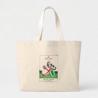 england v ireland rugby balls - from tony fernande large tote bag