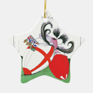 england v wales rugby balls from tony fernandes christmas ornament
