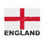 England Vintage Flag Postcard