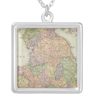 England, Wales 2 Silver Plated Necklace