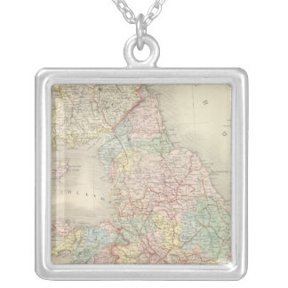 England, Wales 3 Silver Plated Necklace