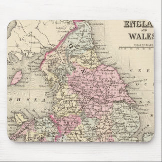 England, Wales 5 Mouse Mat