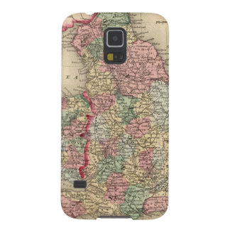 England, Wales Map by Mitchell Galaxy S5 Cover