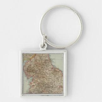 England, Wales N Key Chains