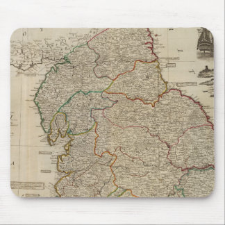 England, Wales north Mouse Mat