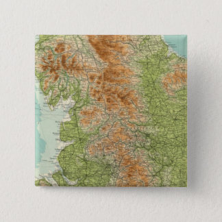 England & Wales, northern section 15 Cm Square Badge