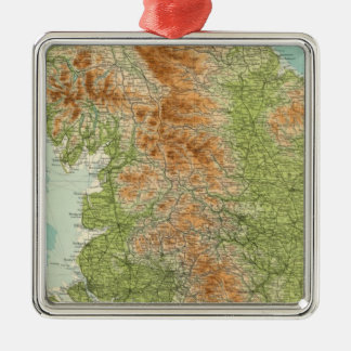 England & Wales, northern section Christmas Ornament
