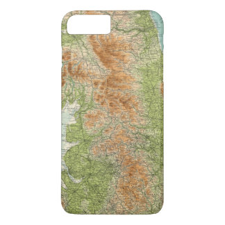 England & Wales, northern section iPhone 7 Plus Case