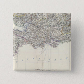 England, Wales S 15 Cm Square Badge