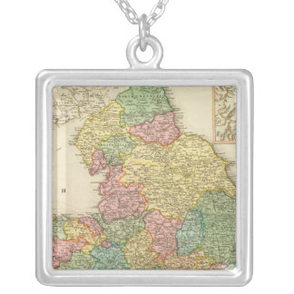 England, Wales, Scotland Silver Plated Necklace