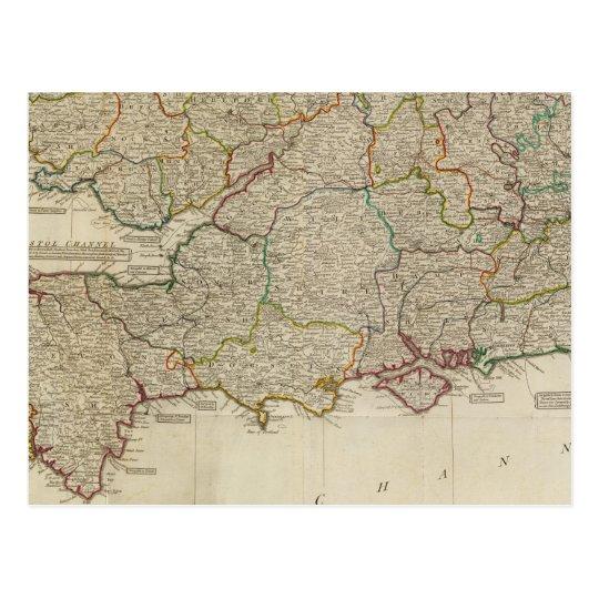 England, Wales, south Postcard