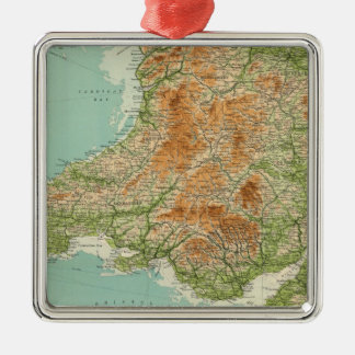 England & Wales, southwestern section Scilly Isles Christmas Ornament