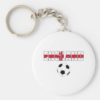 England World Cup 2010 South Africa Basic Round Button Key Ring