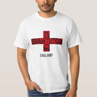 England! World Cup Series by RebelFly T-Shirt