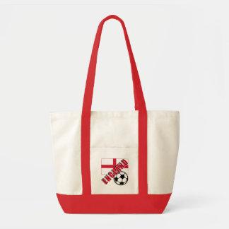 ENGLAND World Soccer Fan Tshirts Impulse Tote Bag