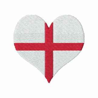 Englands Heart Embroidered Shirts