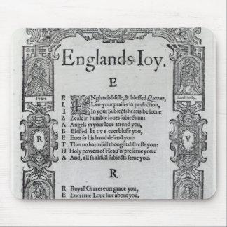England's Joy by Richard Vennar, c.1602 Mouse Pad