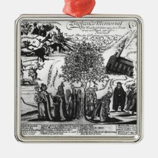 England's Memorial Christmas Ornament