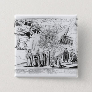 England's Memorial of its Wonderful Deliverance 15 Cm Square Badge
