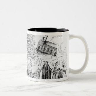 England's Memorial of its Wonderful Deliverance Two-Tone Coffee Mug