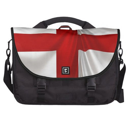 England's St George Cross Patriotic Flag Bag For Laptop