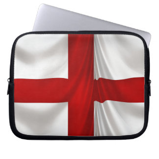 England's St George Cross Patriotic Flag Laptop Sleeve