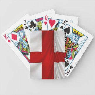 England's St George Cross Patriotic Flag Poker Deck