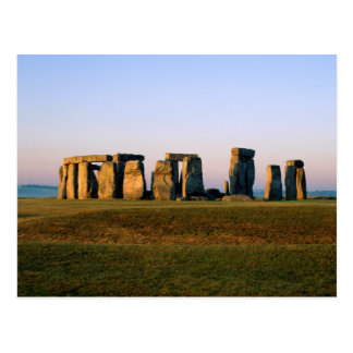 England's Stonehenge Postcard
