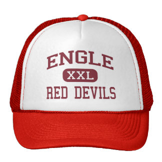 Engle - Red Devils - Middle - West Grove Trucker Hat