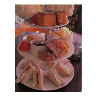 English Afternoon Tea Postcard