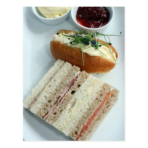 English afternoon tea post cards