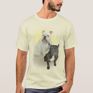 English and French Bulldogs shirt
