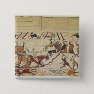 English and French soldiers 15 Cm Square Badge