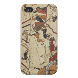 English and French soldiers Case For The iPhone 4