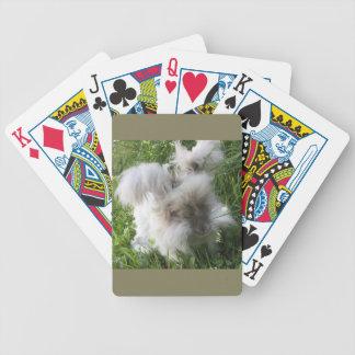 "English Angora ""Bradley"" playing Cards"