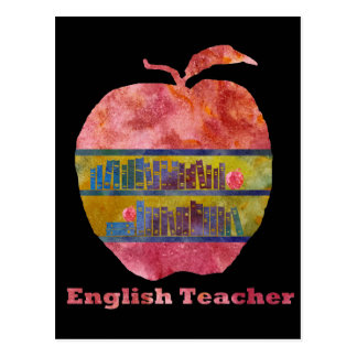 English Apple Postcard