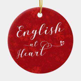 English At Heart, Christmas Tree Ornament, England Christmas Ornament