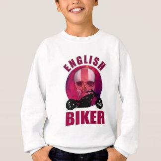 English Biker Skull Chop Sweatshirt