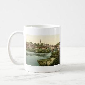 English Bridge, Shrewsbury, Shropshire, England Basic White Mug