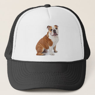 English British Bulldog Trucker Hat