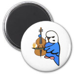 English Budgie Plays Bass Cello