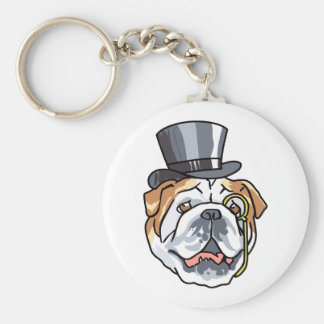 English Bull Dog Keychains