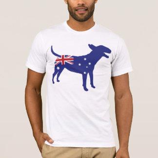 English Bull Terrier / Australian Flag Tee
